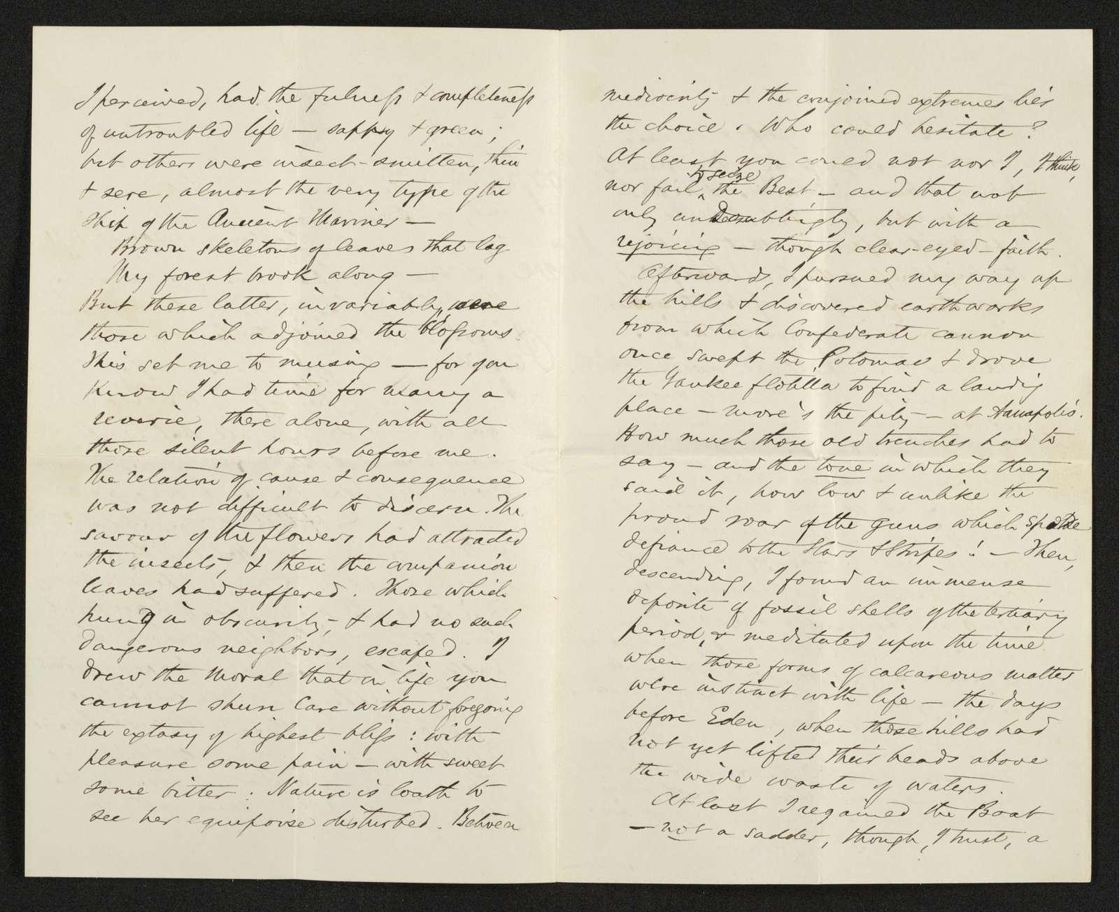 Lewis H. Machen Family Papers: Machen-Gresham Correspondence, 1871-1889; Machen, Arthur W., to Gresham, Minnie; 1871
