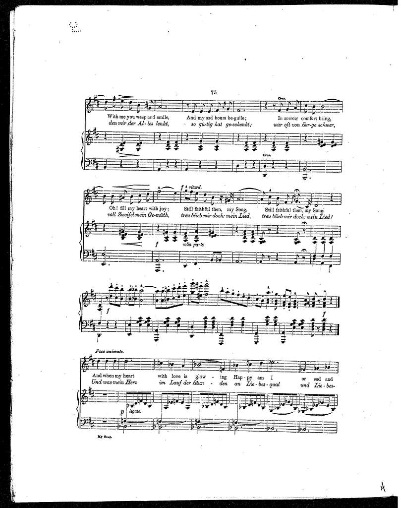 My Song (Beauties of German Song)