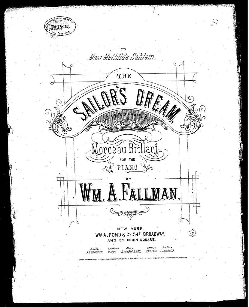 Sailor's dream, The - Le rv̊e du matelt̥