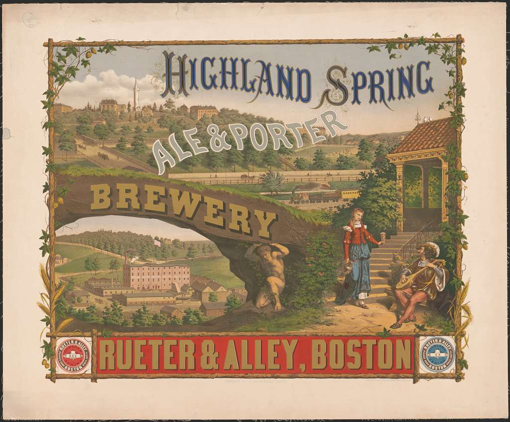 Highland Spring, ale & porter brewery