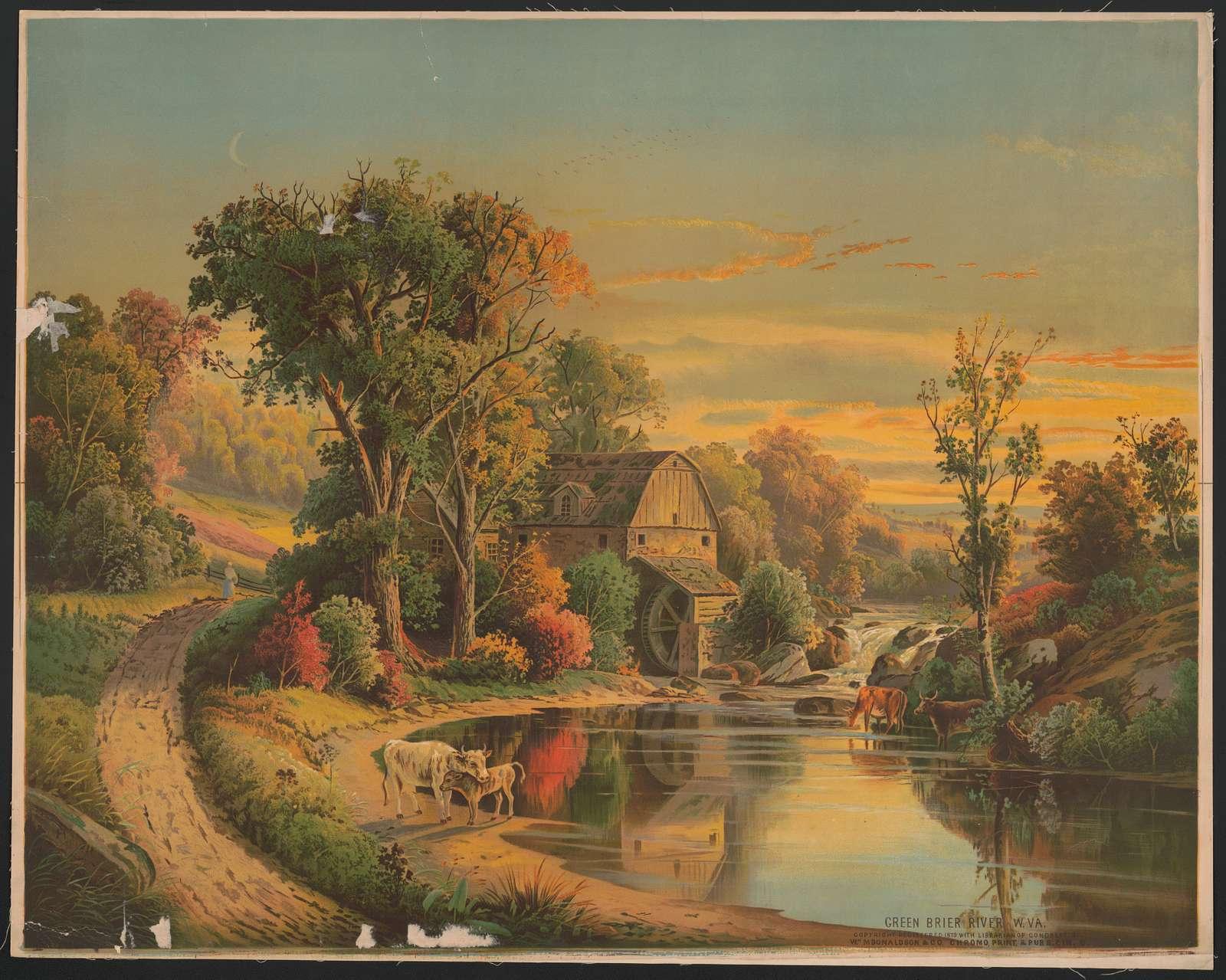 Green Brier River W.Va