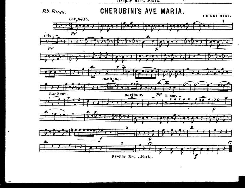 Cherubini's Ave Maria