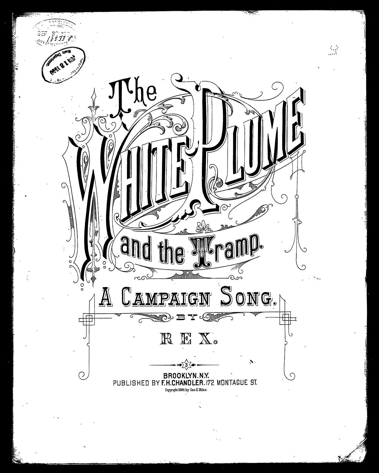 The White plume and the tramp