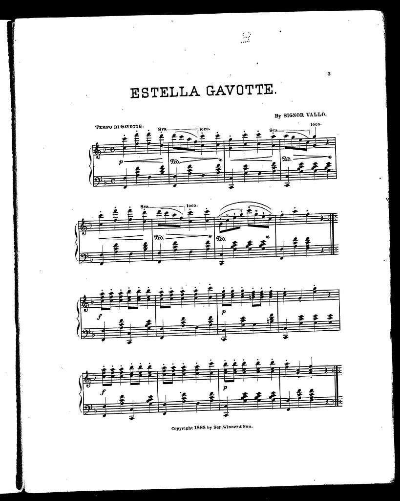 Estella gavotte