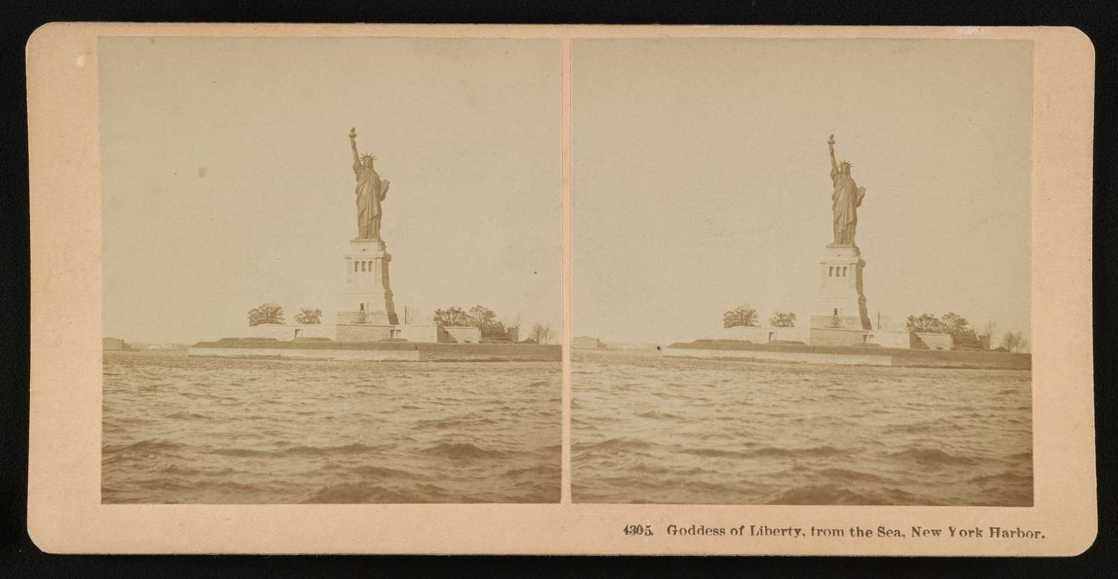 Goddess of Liberty, from the sea, New York Harbor
