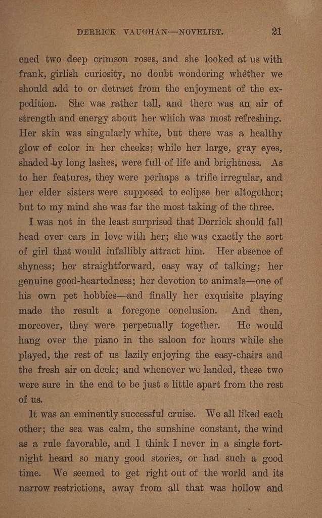 Derrick Vaughan--novelist