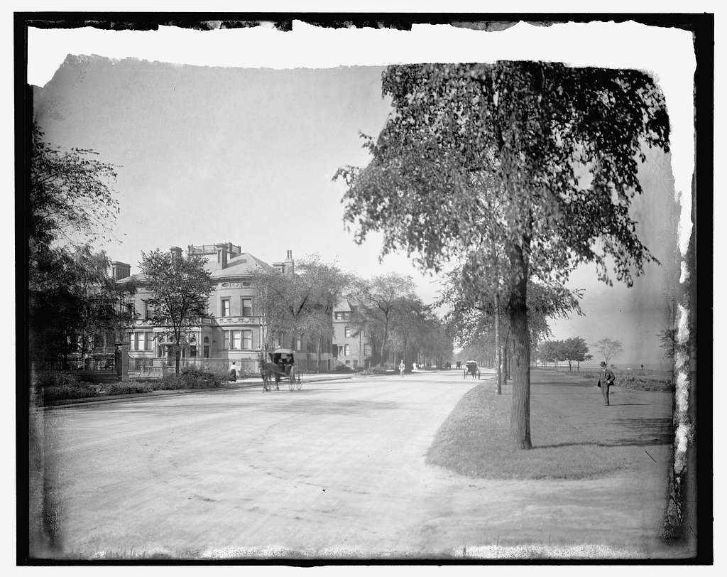 Chicago, Ill., Lake Shore Drive, Jackson Park