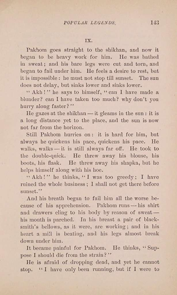 Count Tolstoï's gospel stories,
