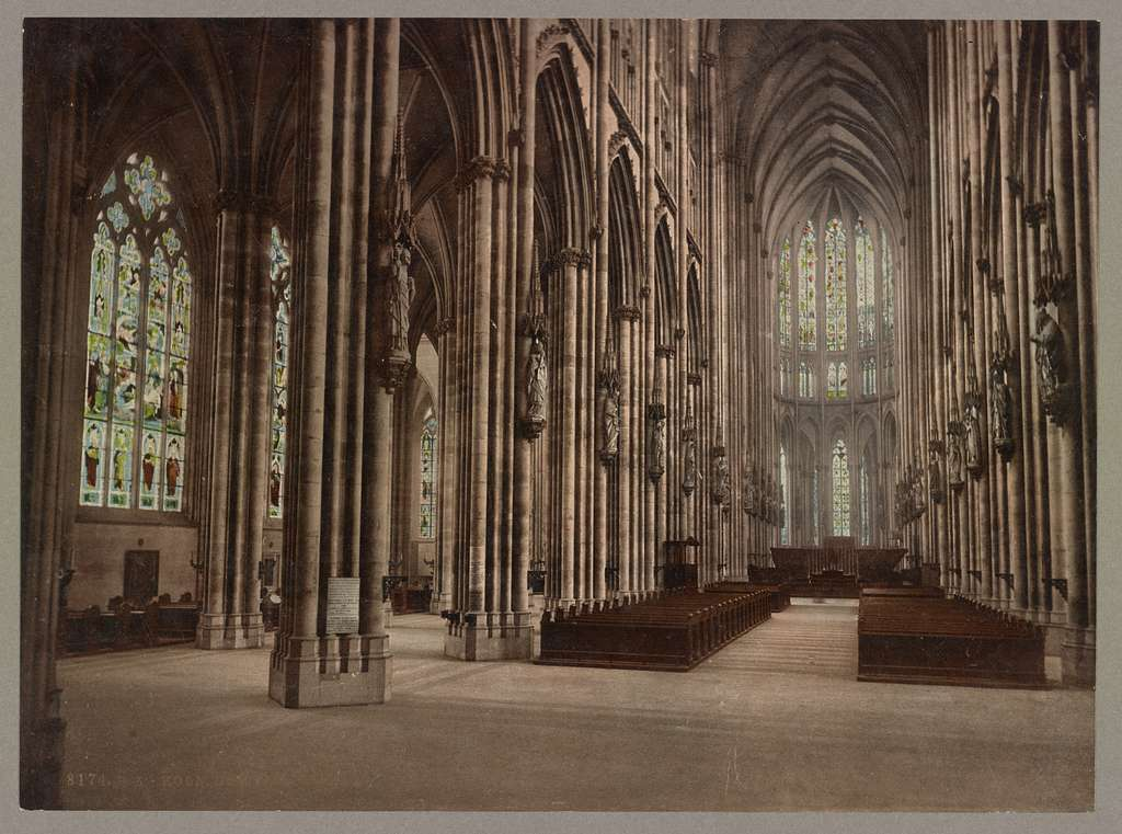 Köln. Dom-Inneres