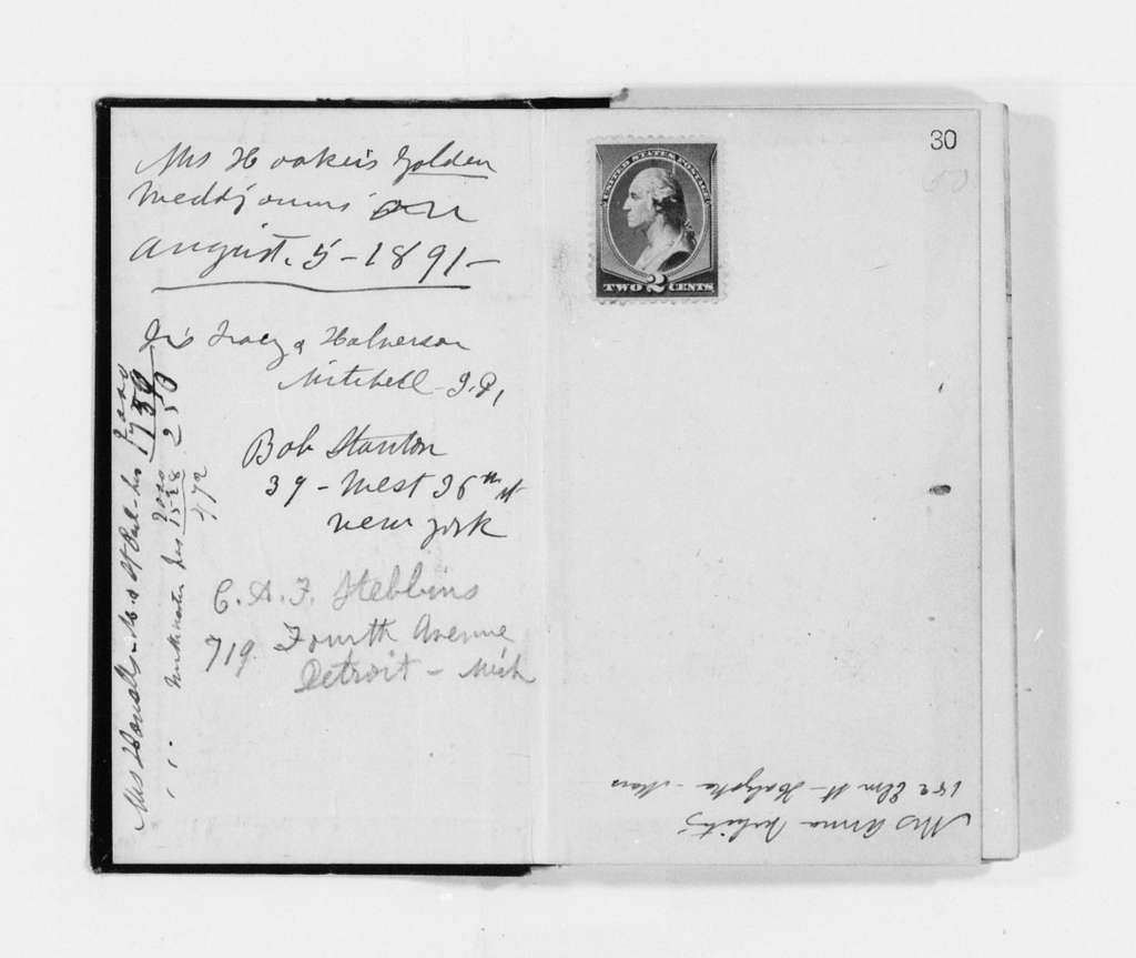 Susan B. Anthony Papers: Daybook and Diaries, 1856-1906; Diaries; 1890