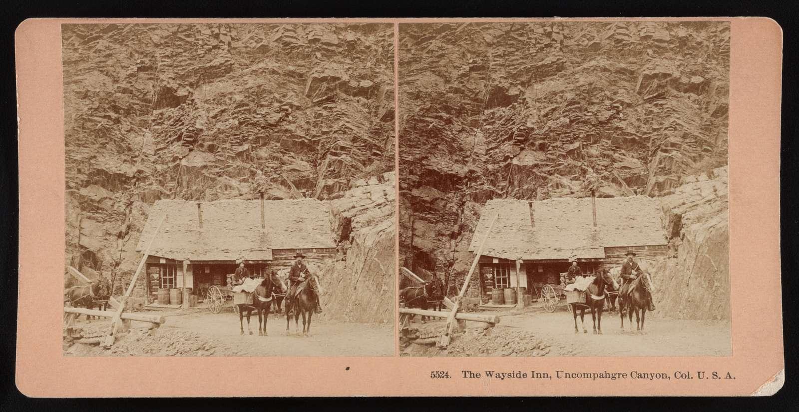 The Wayside Inn, Uncompahgre Canyon, Col. U.S.A