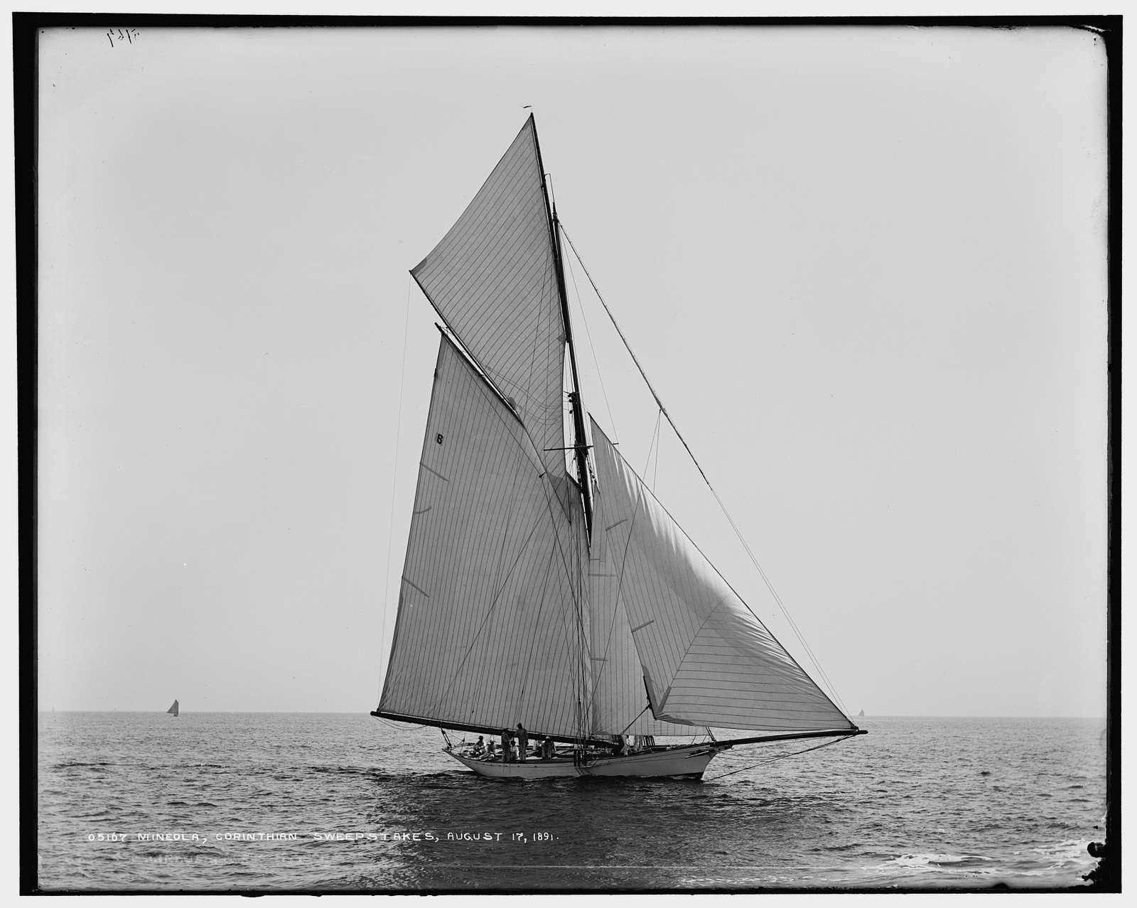 Mineola, Corinthian Sweepstakes, August 17, 1891