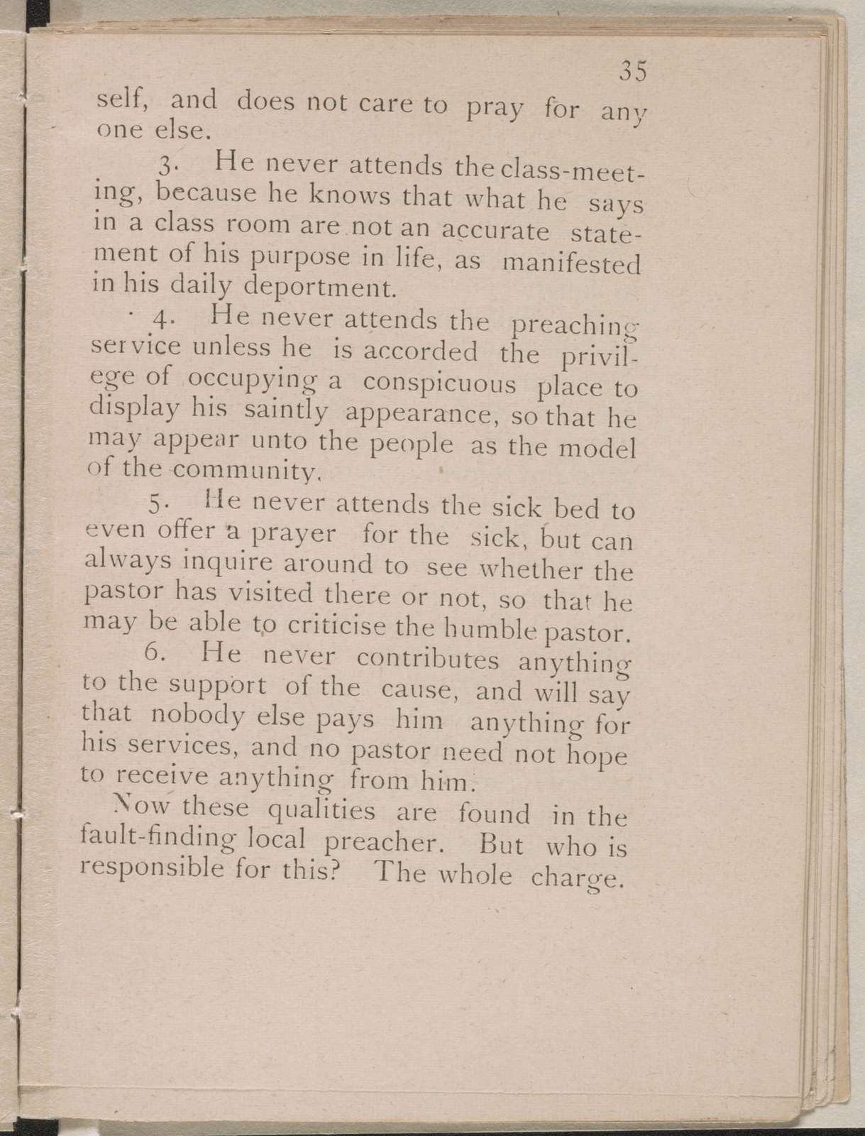How to get church members to work : a brief and pointed exposition of the causes of carelessness in the church, among pastors, officers, and members : with advisatory hints on how to remove them