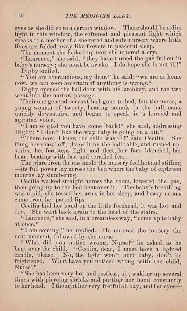 The medicine lady,