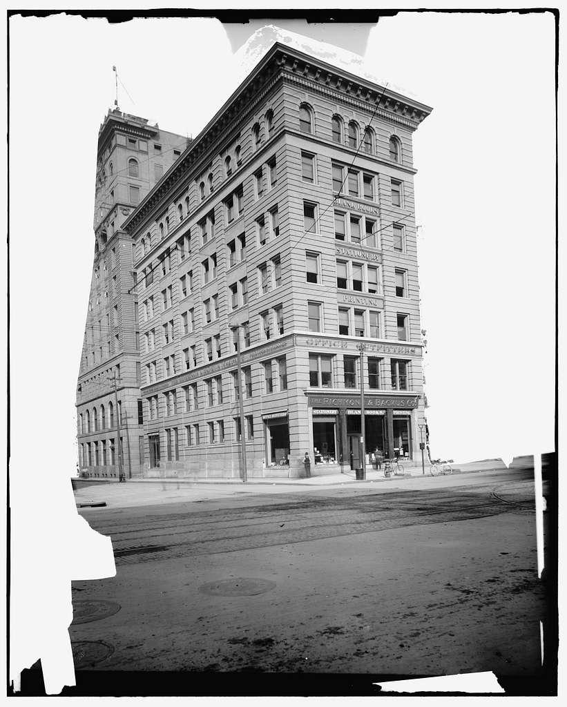 Richmond & Backus Co. office building, Detroit, Mich.