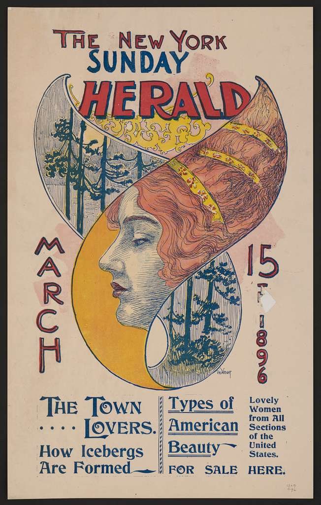 The New York Sunday Herald, March 15th 1896