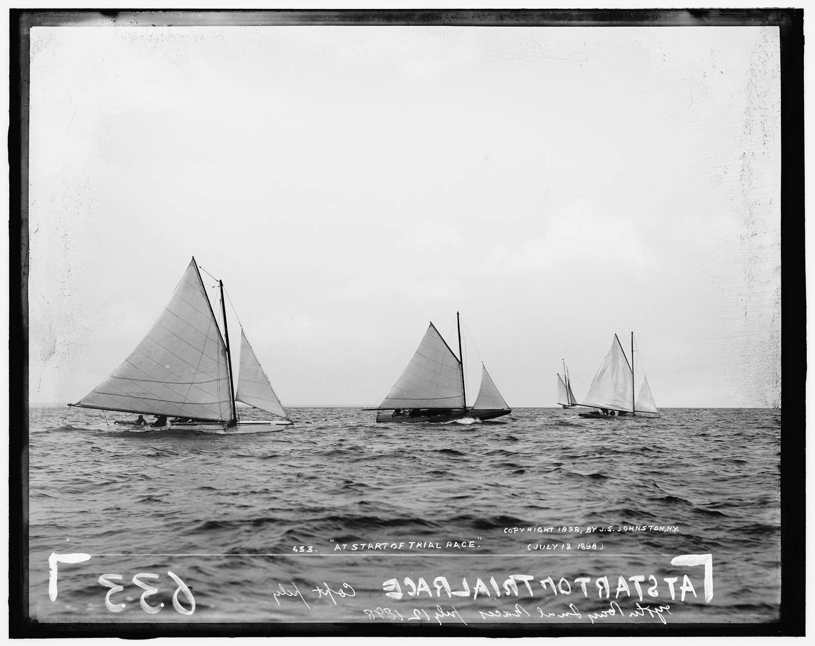 At start of trial race