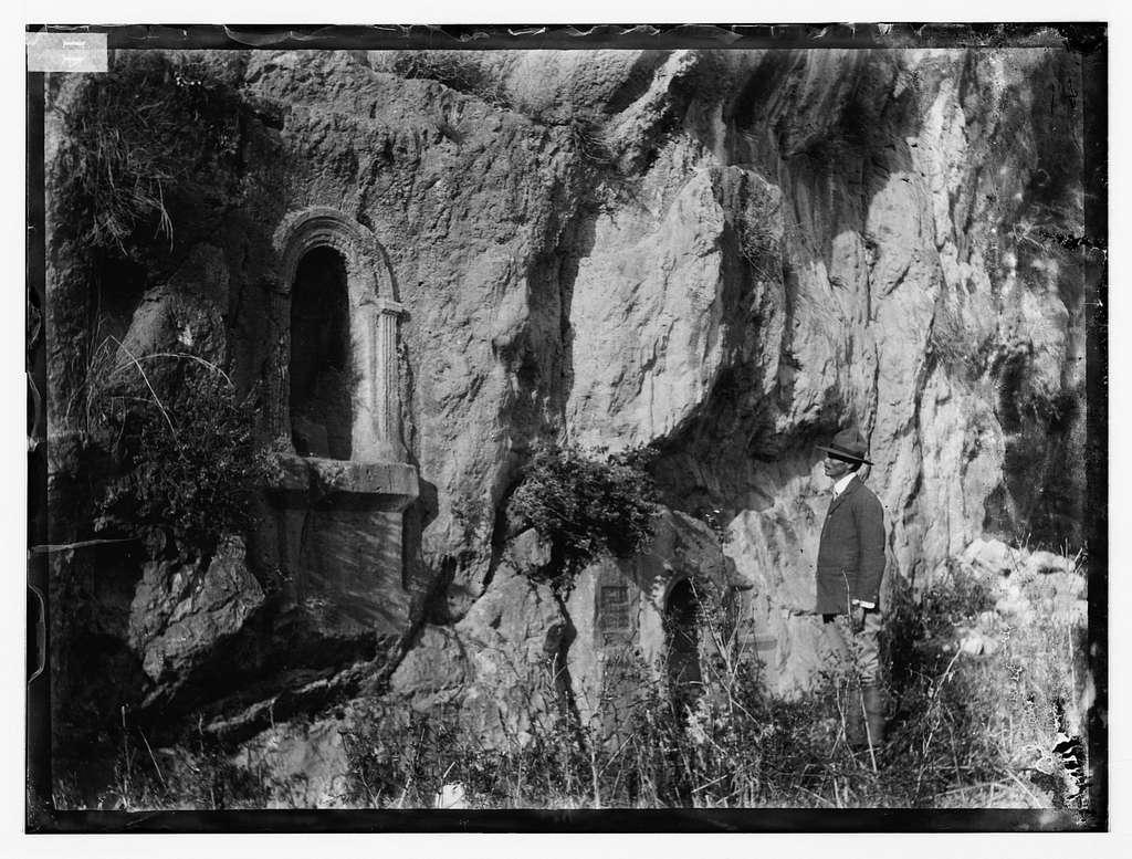 Banias (Caesarea Philippi), with niches for statues of deities
