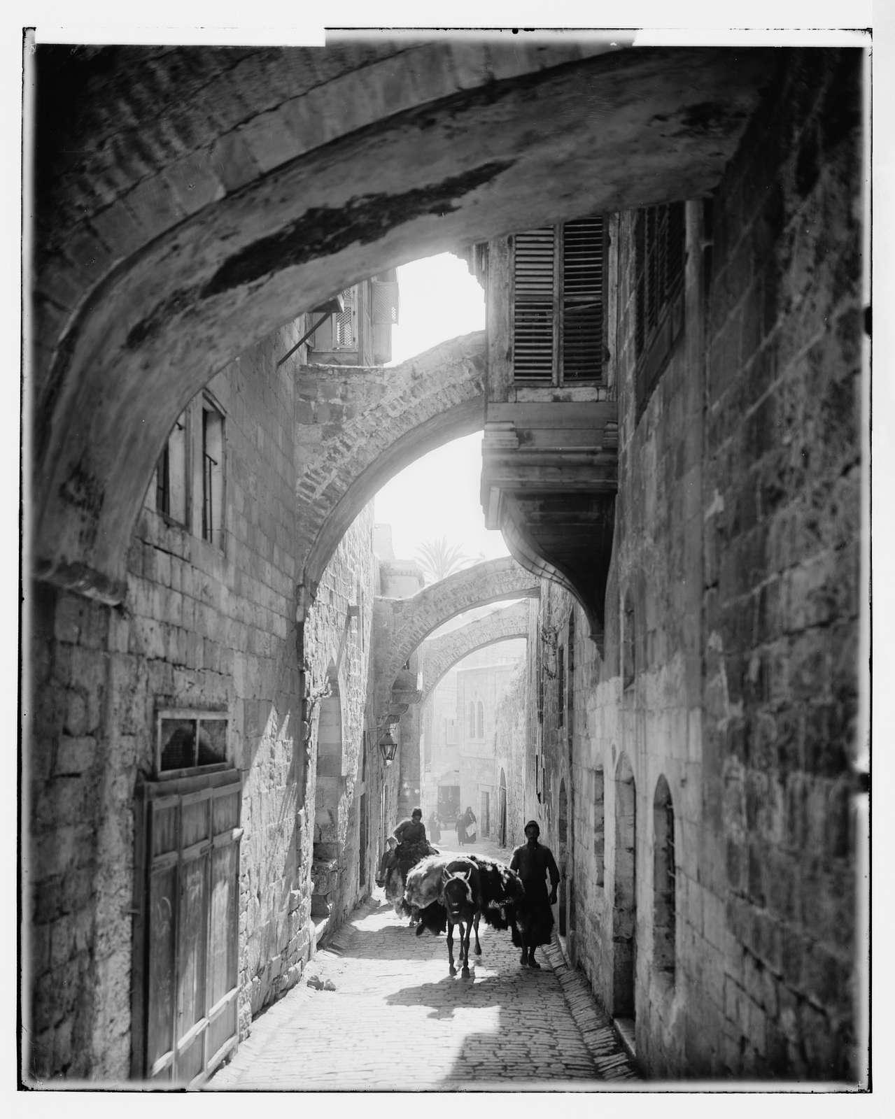 Jerusalem (El-Kouds). Via Dolorosa