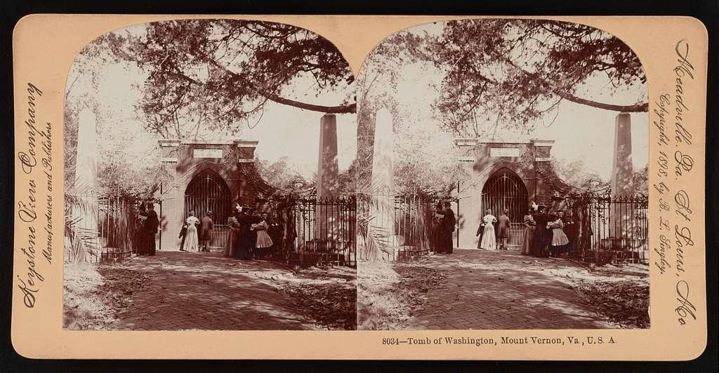 Tomb of Washington, Mount Vernon, Va., U.S.A