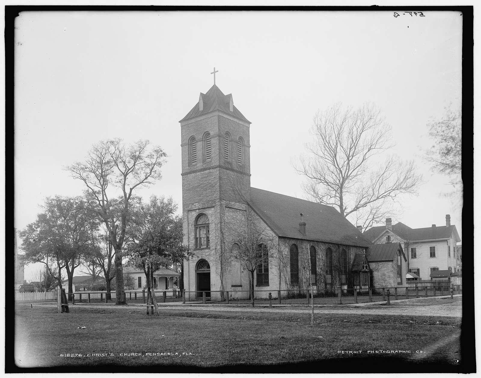 Christ's Church i.e. Old Christ Church, Pensacola, Fla