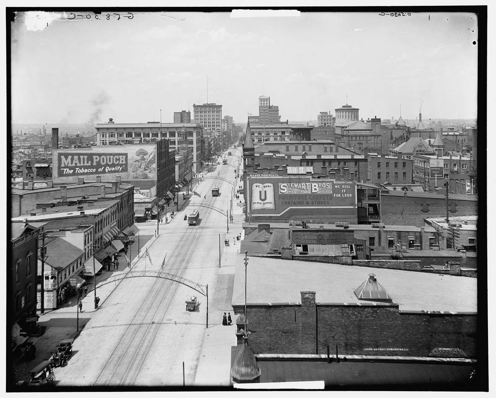 Columbus, Ohio, from the court house