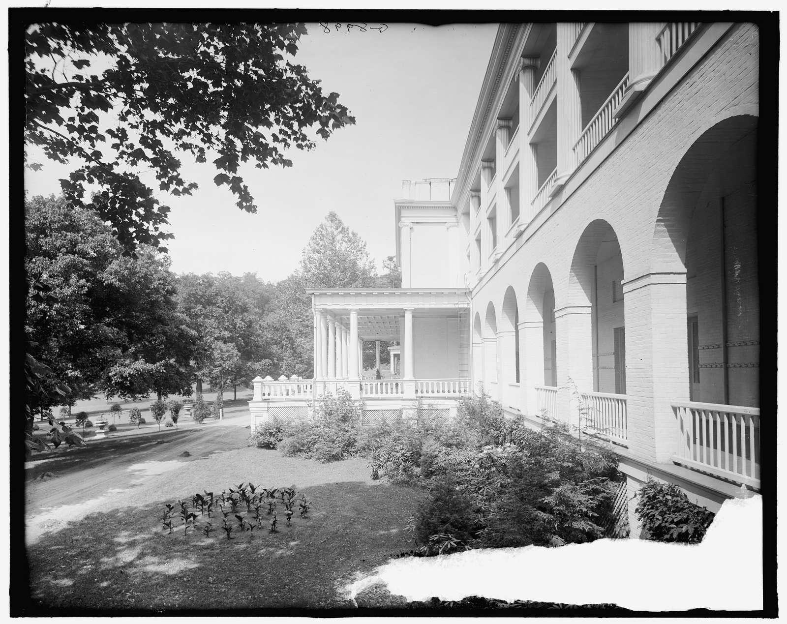 Hotel, White Sulphur Springs, West Va.
