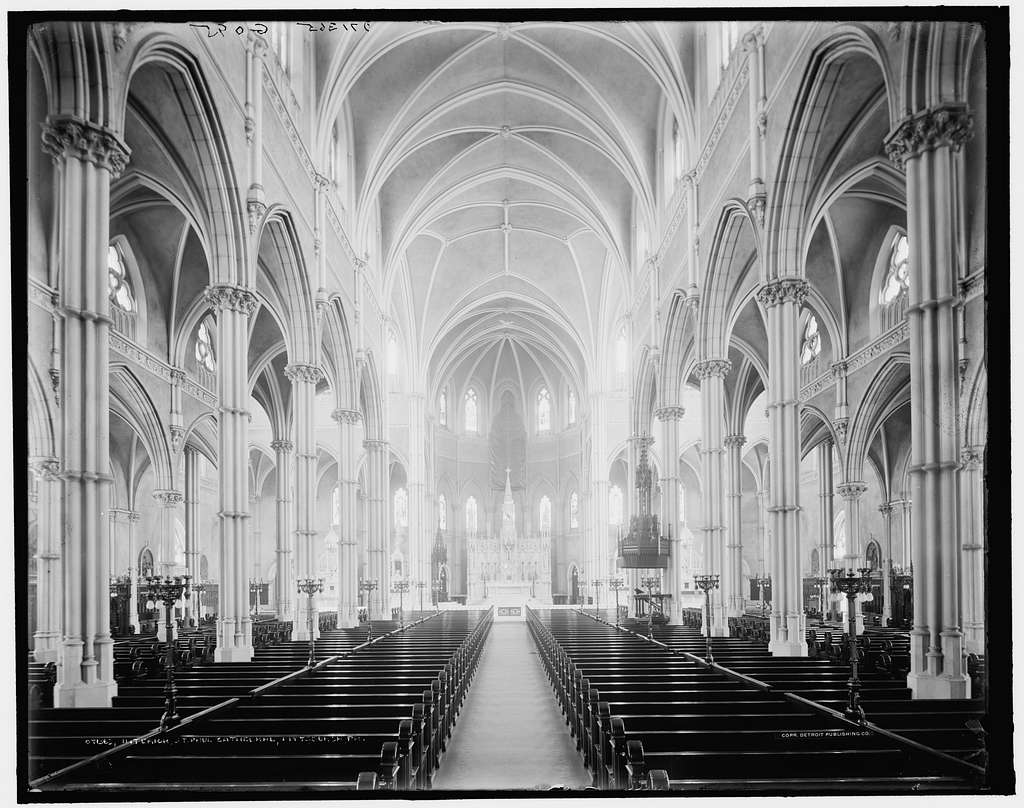 Interior, St. Paul i.e. Paul's Cathedral, Pittsburgh, Pa