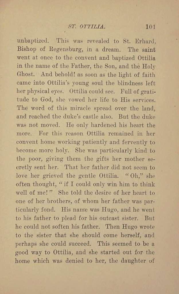 Lives of the saints for children