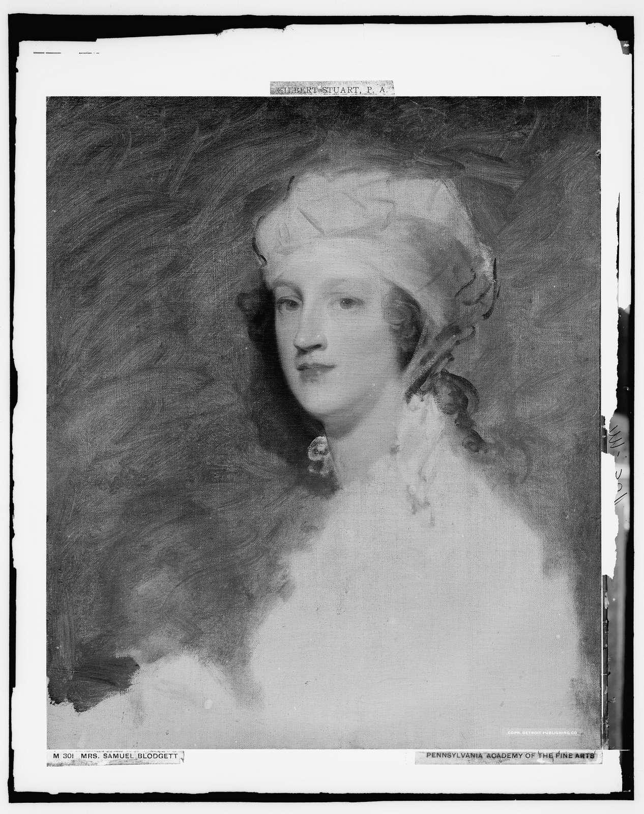 Mrs. Samuel Blodgett