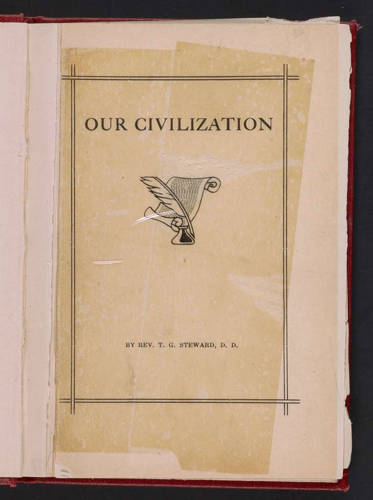 Our civilization; a popular lecture