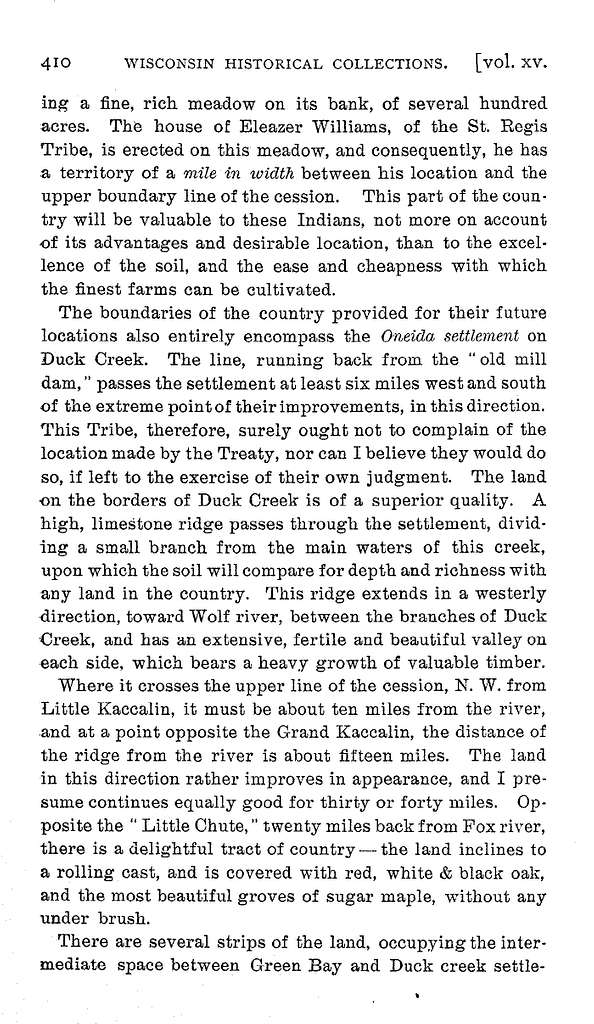 Report on the quality and condition of Wisconsin Territory, 1831