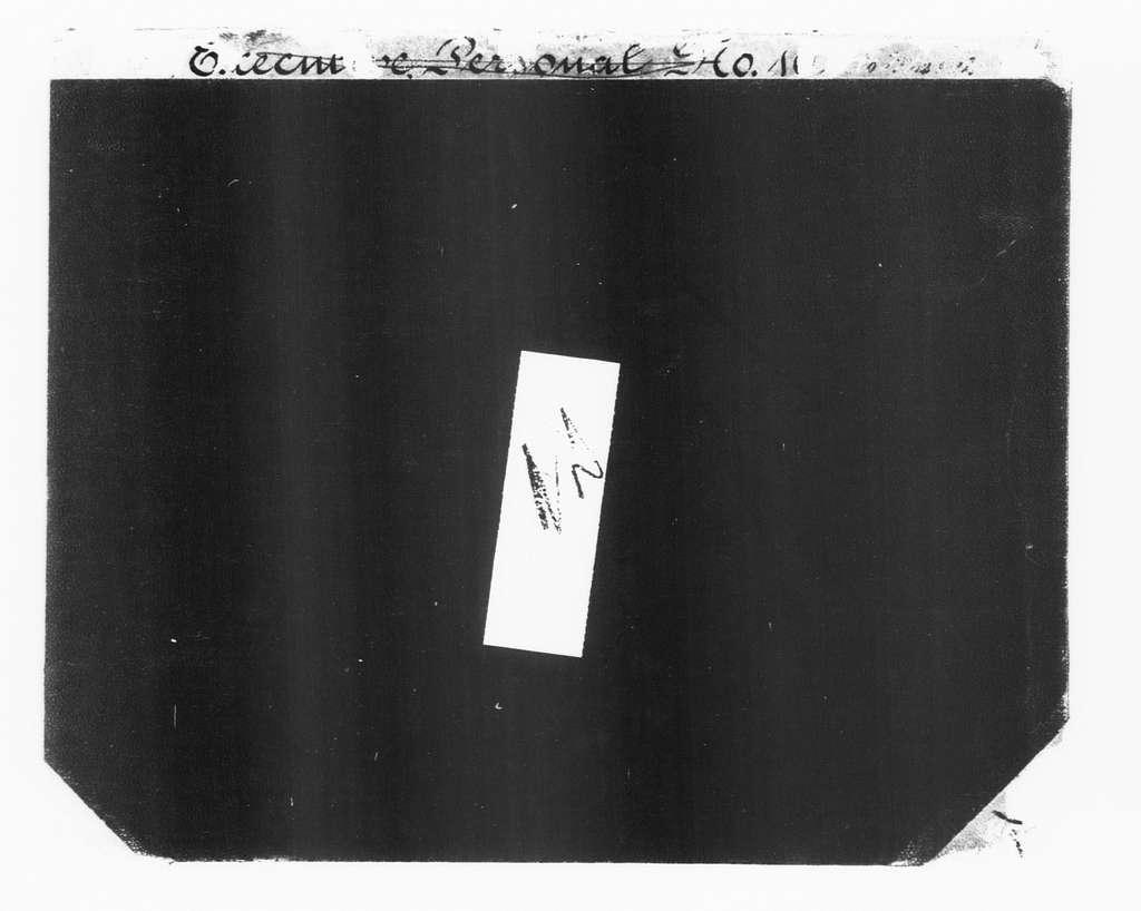 Theodore Roosevelt Papers: Series 2: Letterpress Copybooks, 1897-1916; Vol. 22, 1900, Feb. 10-Mar. 22