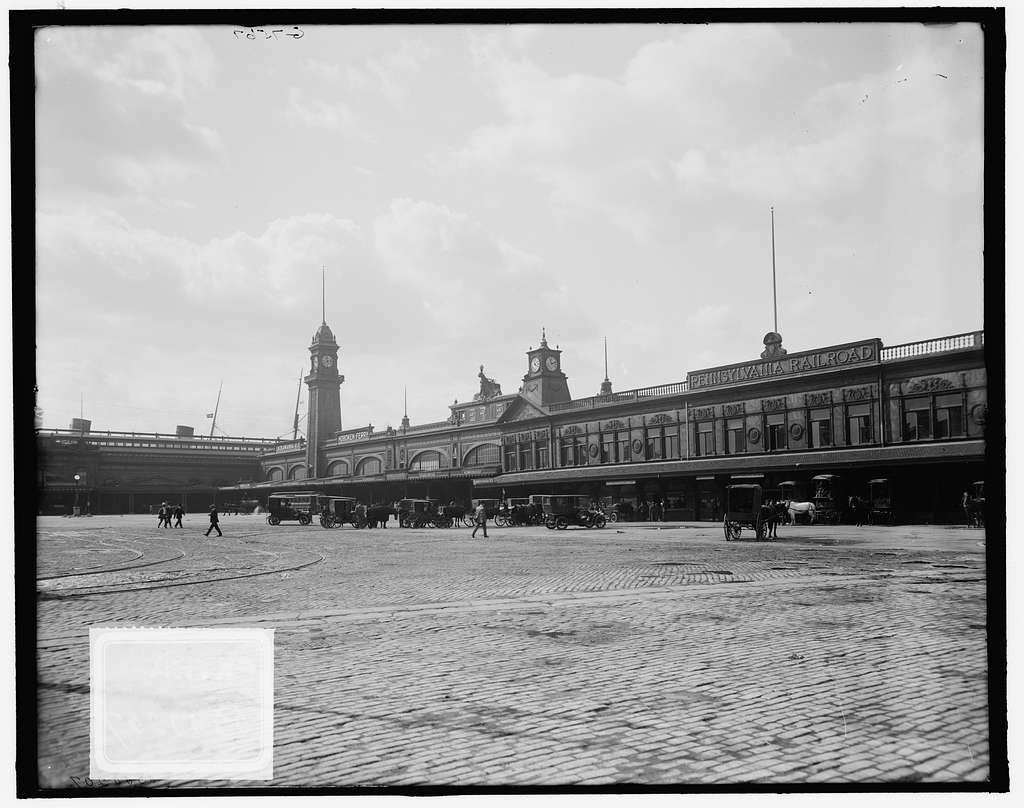 Twenty-third Street piers, North River, New York, N.Y.
