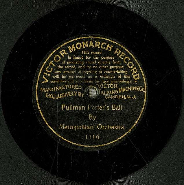 Pullman porter's ball