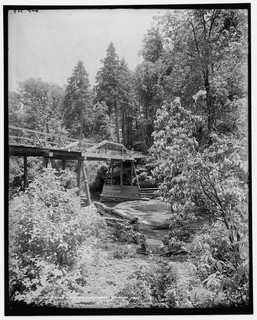 Bridge over the Whitewater, Sapphire, N.C