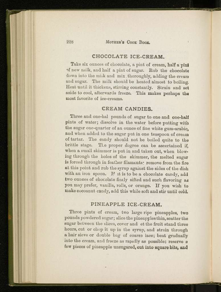 Martha Washington's or the mother's cook book : a compendium of cookery and reliable recipes