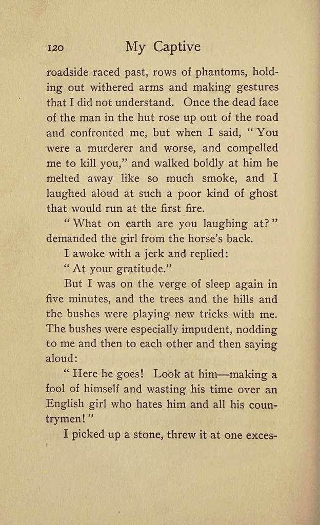 My captive; a novel,