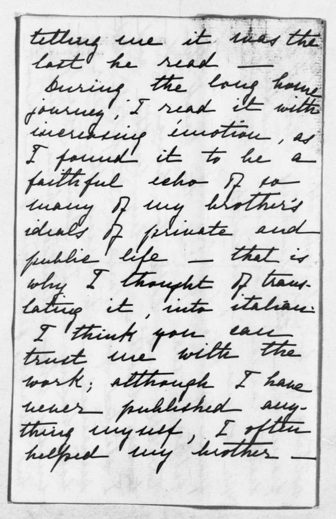 Theodore Roosevelt Papers: Series 1: Letters and Related Material, 1759-1919; 1903, Oct. 17-Dec. 2