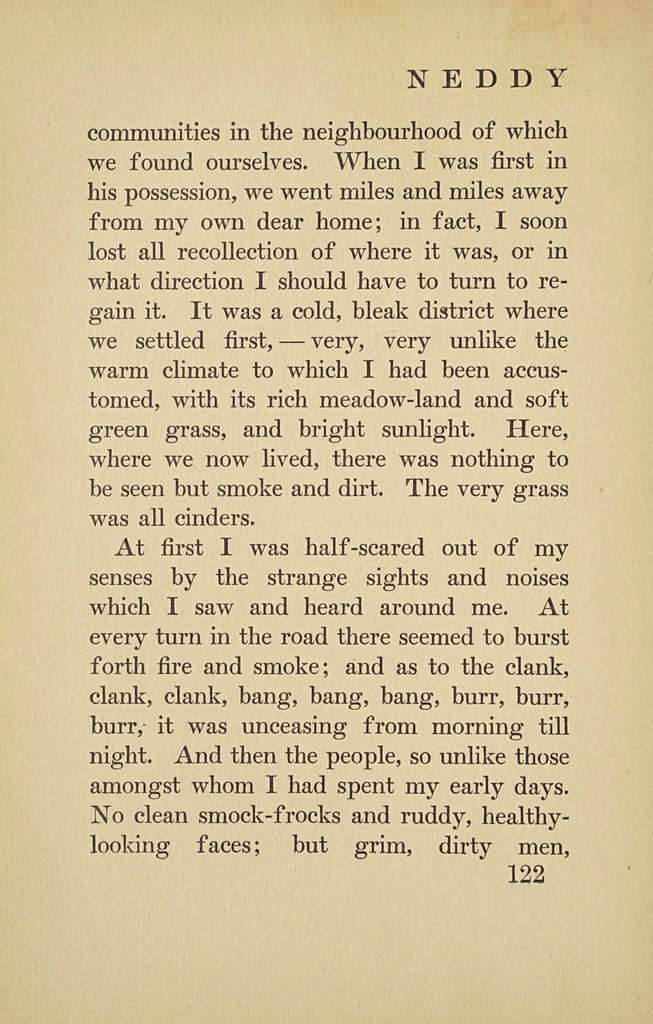 Neddy, the autobiography of a donkey,