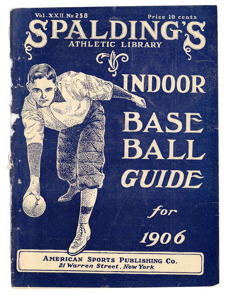 Official indoor base ball guide containing the constitution, 1906