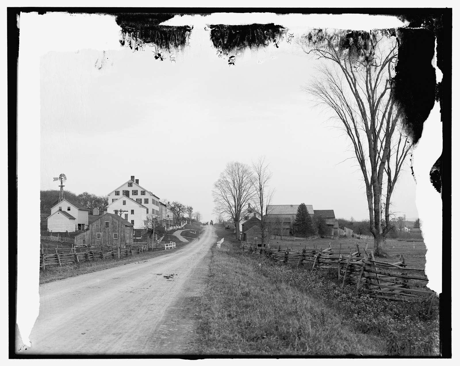 Shaker Town Road, Pittsfield, Mass.