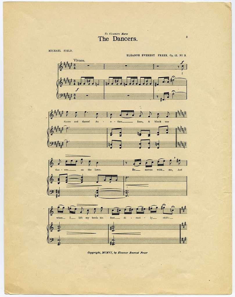 The Dancers Op. 12, No. 2