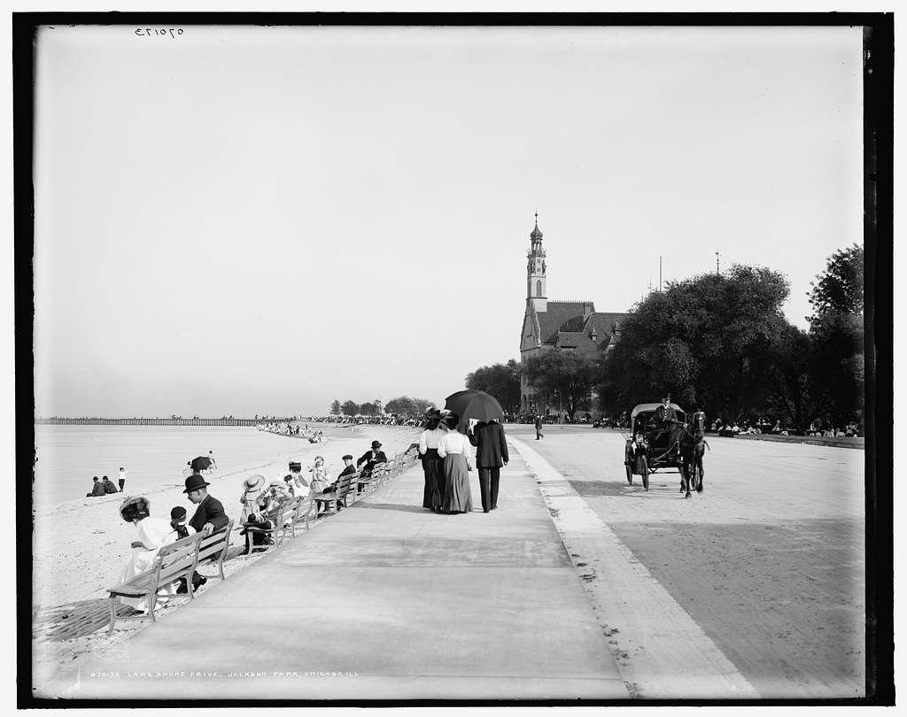 Lake Shore Drive, Jackson Park, Chicago, Ill