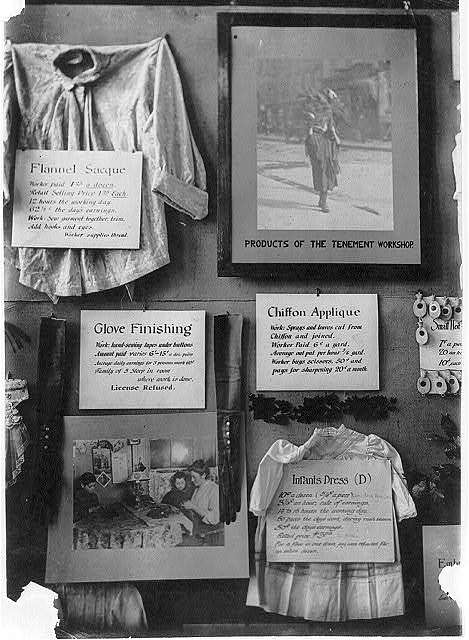 Part of exhibit, N.Y.C.L. and Consumers League. Location: New York, New York (State)