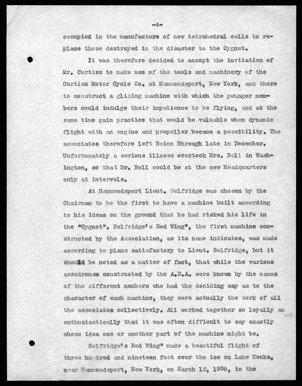 Article by Mabel Hubbard Bell, 1909