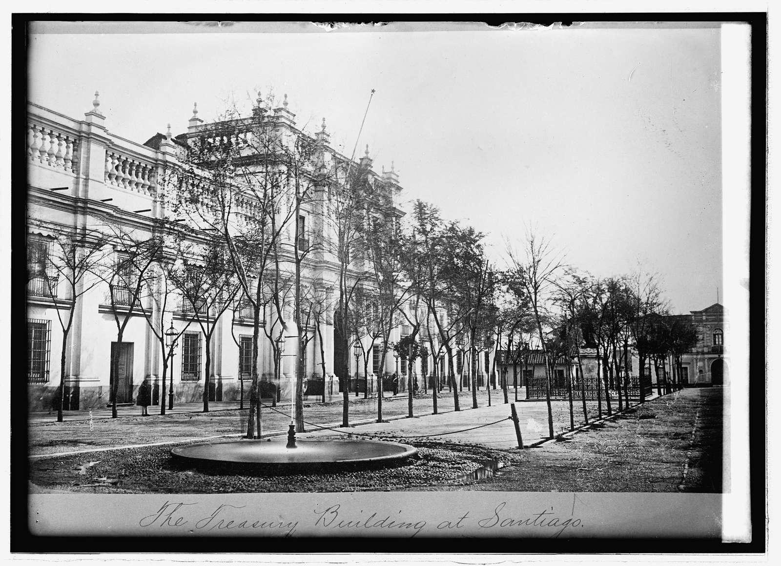 Treasury Bldg., Santiago