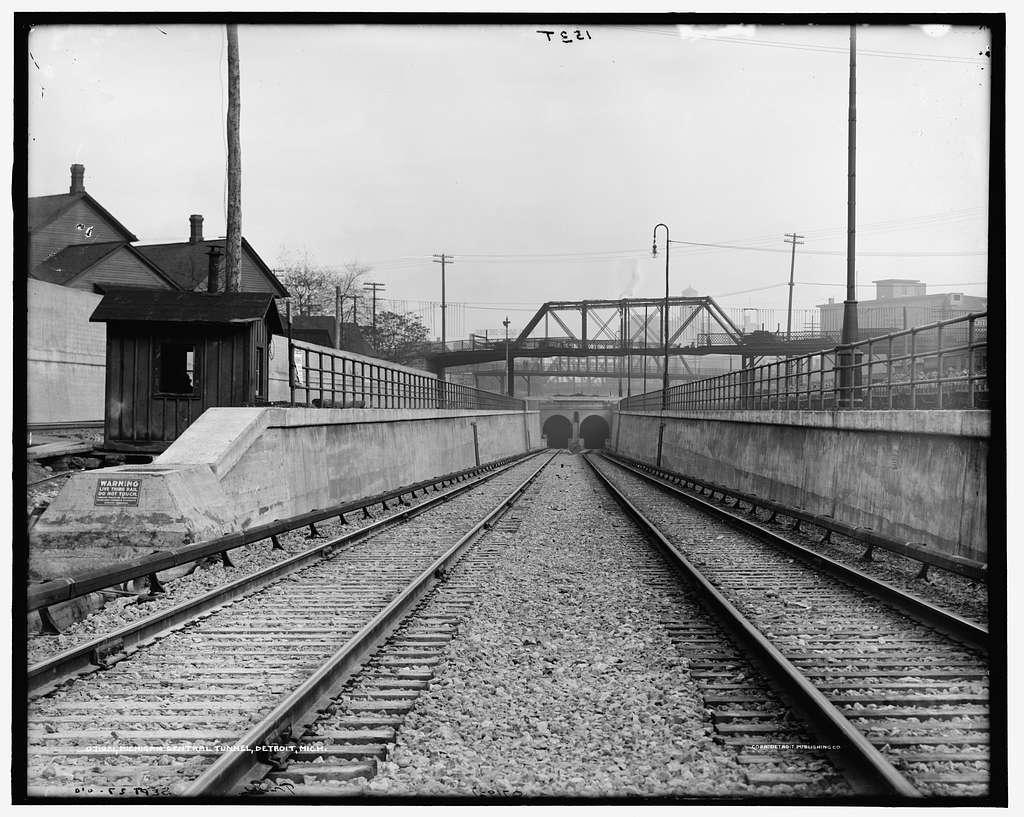 Michigan Central Railroad Tunnel, Detroit, Mich