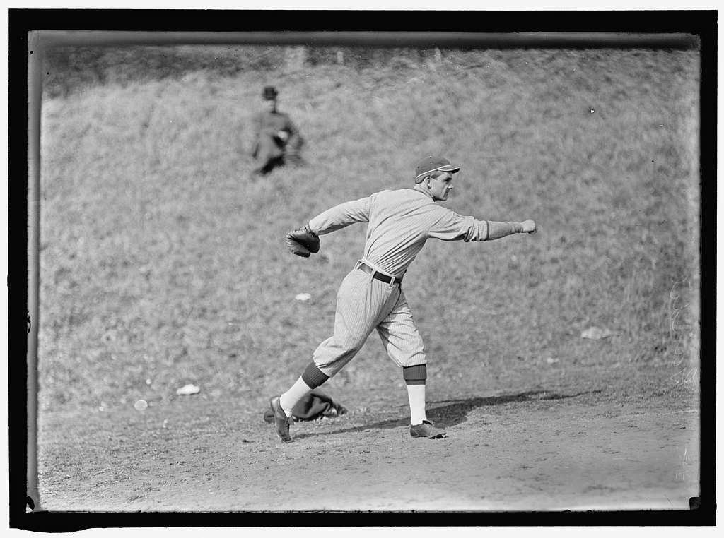 Chick Gandil, Washington AL, at University of Virginia, Charlottesville (baseball)