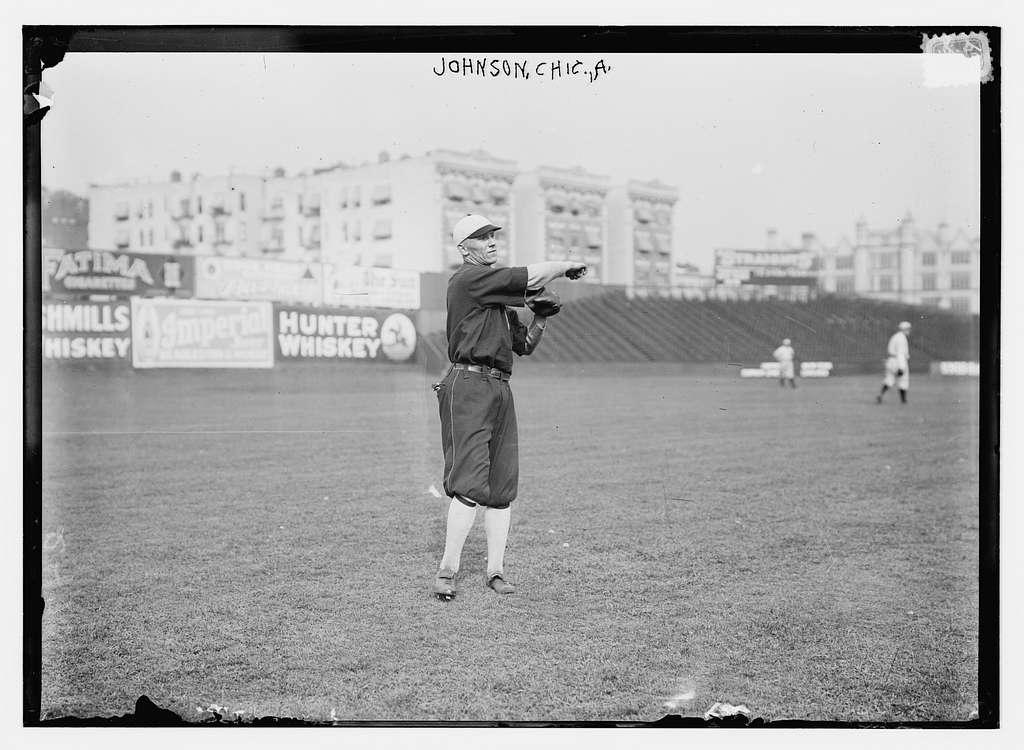 Ernie R. Johnson, Chicago AL (baseball)
